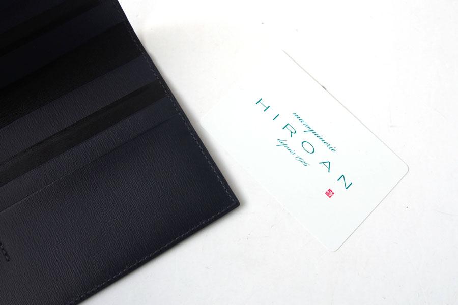 メゾンドヒロアン  MAISON DE HIROAN 札入れ ネイビーイメージ06