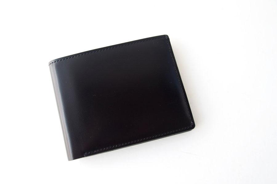 モリヤ|moriya|コードバン折財布|ブラックイメージ01