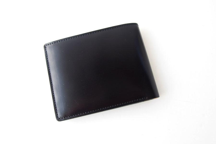 モリヤ|moriya|コードバン折財布|ブラックイメージ02