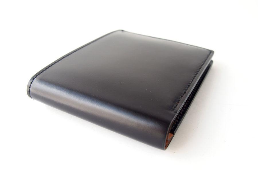 モリヤ|moriya|コードバン折財布|ブラックイメージ03