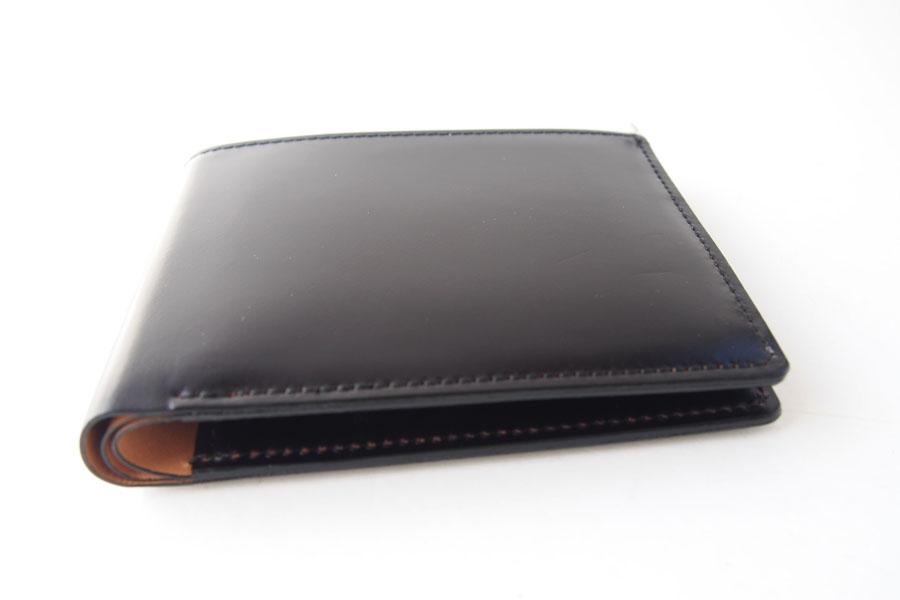 モリヤ|moriya|コードバン折財布|ブラックイメージ04