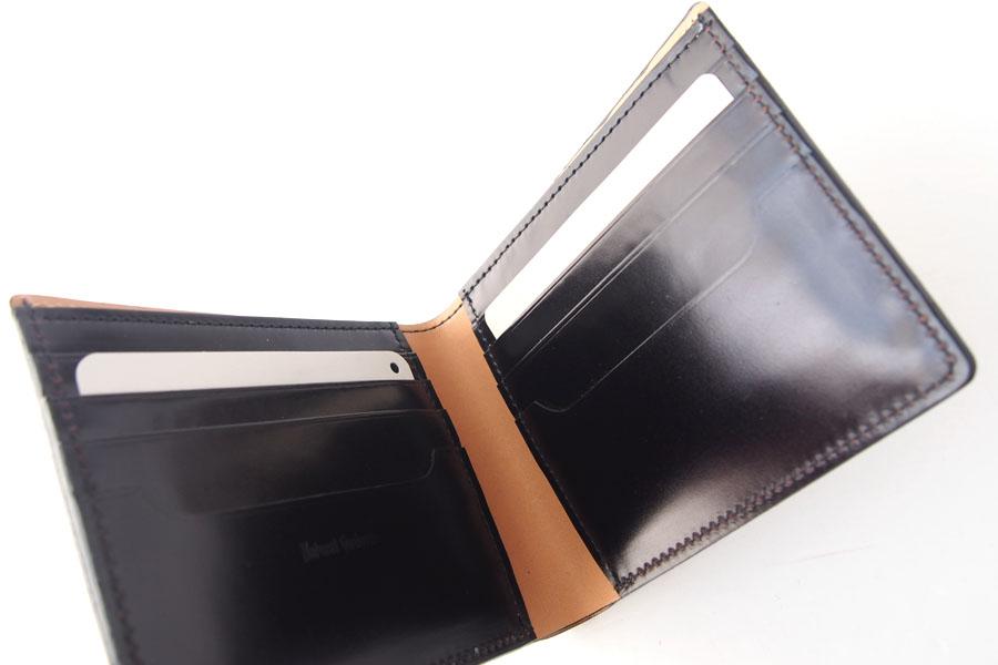モリヤ|moriya|コードバン折財布|ブラックイメージ05