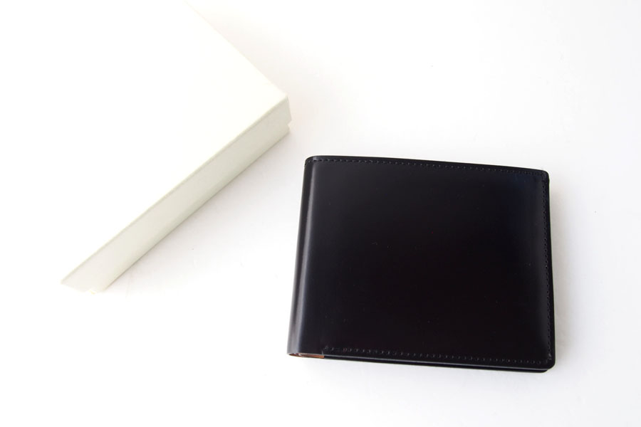 モリヤ|moriya|コードバン折財布|ブラックイメージ08
