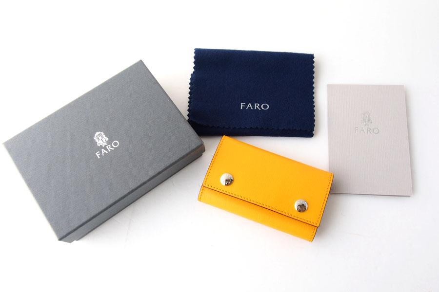 ファーロ|FARO|キーケース|ROE FIN-CALF|FRO310228|イエローイメージ04