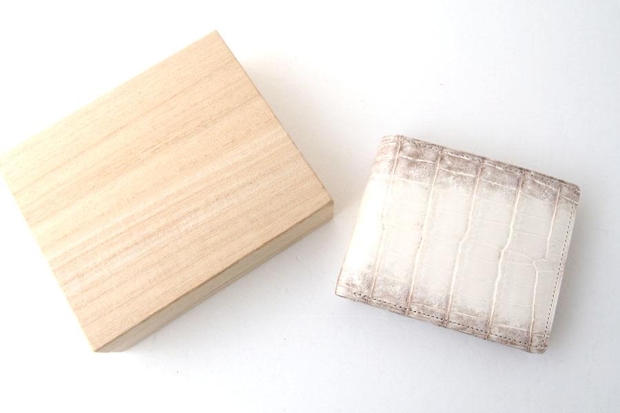 モリヤ|moriya|クロコダイル2つ折財布|ウォレット|ヒマラヤイメージ01