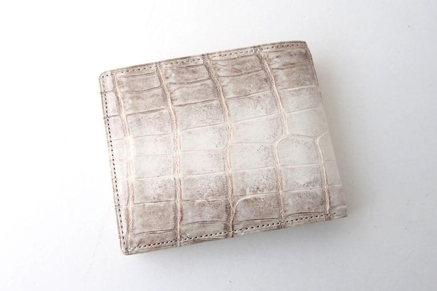 モリヤ|moriya|クロコダイル2つ折財布|ウォレット|ヒマラヤイメージ04