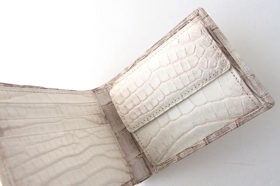 モリヤ|moriya|クロコダイル2つ折財布|ウォレット|ヒマラヤイメージ05