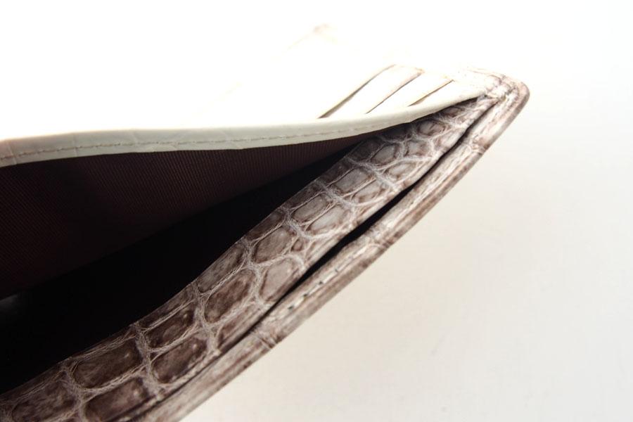 モリヤ|moriya|クロコダイル2つ折財布|ウォレット|ヒマラヤイメージ06