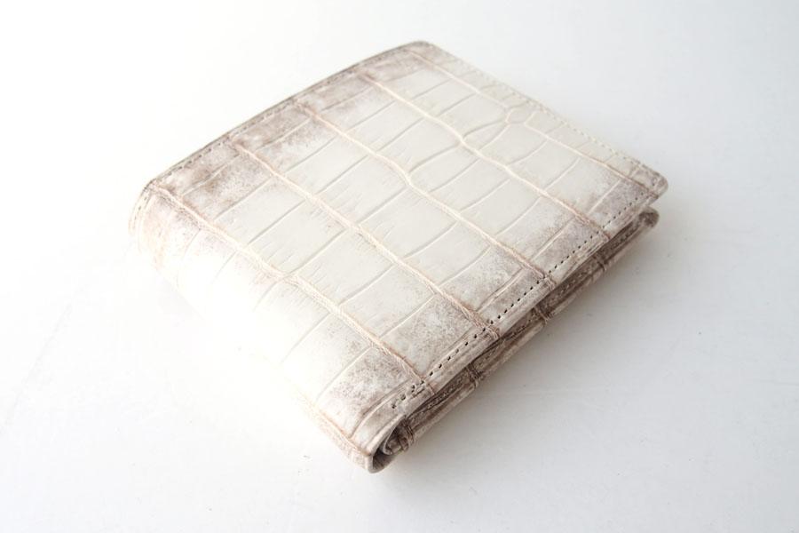 モリヤ|moriya|クロコダイル2つ折財布|ウォレット|ヒマラヤイメージ07
