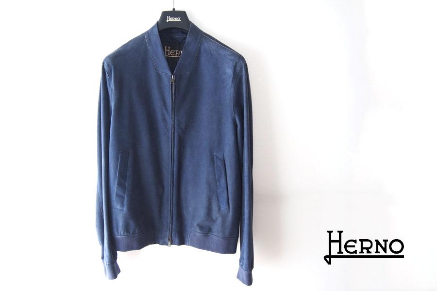 ヘルノ|Herno|ボンディングゴートスエードジップアップブルゾン|PL0062U/18088|48イメージ01