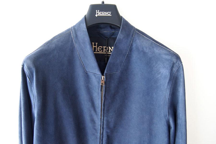 ヘルノ|Herno|ボンディングゴートスエードジップアップブルゾン|PL0062U/18088|48イメージ02