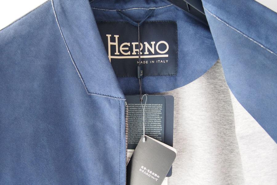 ヘルノ|Herno|ボンディングゴートスエードジップアップブルゾン|PL0062U/18088|48イメージ08