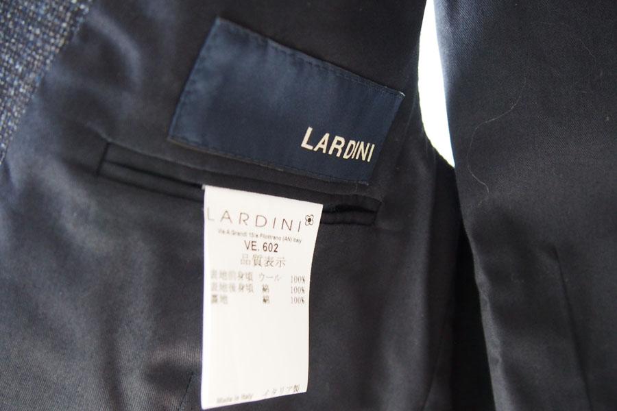 ラルディーニ|LARDINI|ウールフランネルダブルベスト|ジレ|48|ネイビーイメージ04