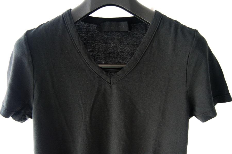 ニコラス&マーク|Nicolas & Mark|Vネック半袖Tシャツ|M|ブラックイメージ02