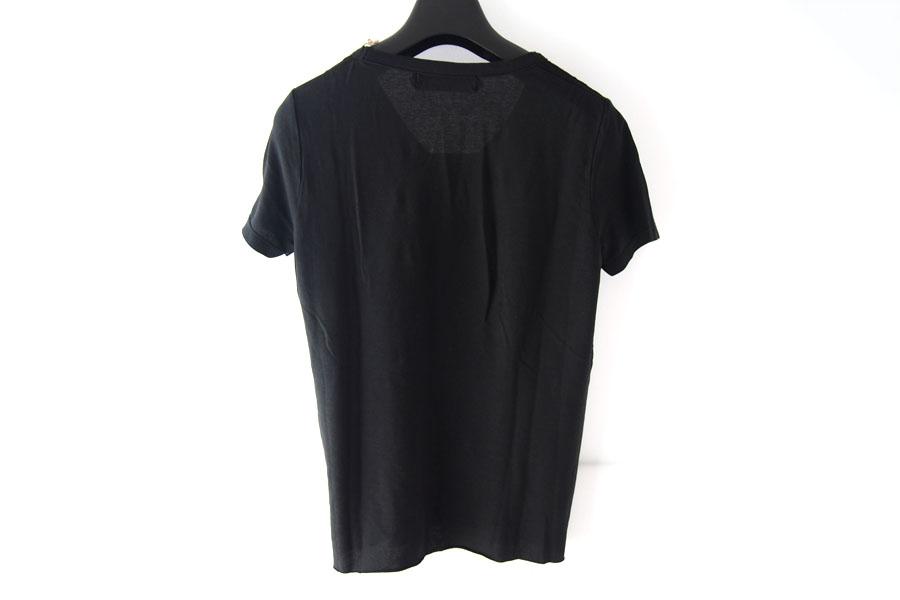 ニコラス&マーク|Nicolas & Mark|Vネック半袖Tシャツ|M|ブラックイメージ04