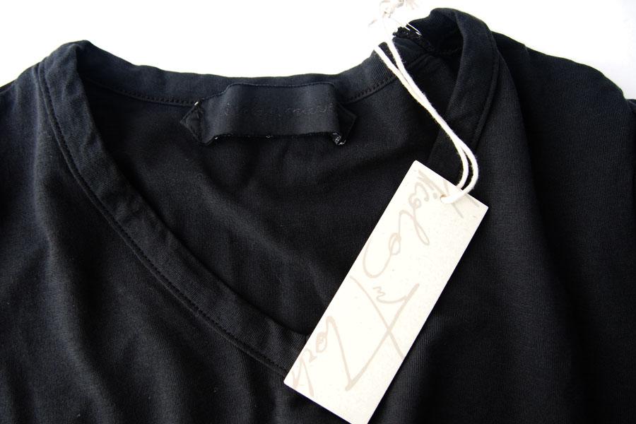 ニコラス&マーク|Nicolas & Mark|Vネック半袖Tシャツ|M|ブラックイメージ05