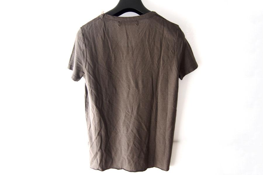 ニコラス&マーク|Nicolas & Mark|Vネック半袖Tシャツ|M|カーキブラウンイメージ05