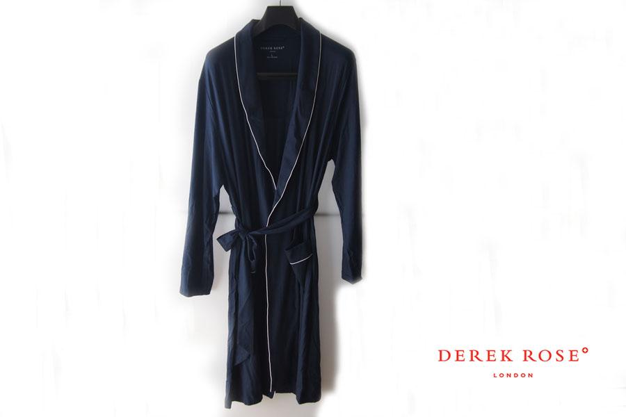 デレクローズ|DEREK ROSE|パイピングトリム モダールナイトガウンイメージ01