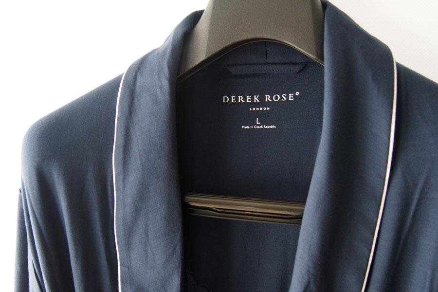 デレクローズ|DEREK ROSE|パイピングトリム モダールナイトガウンイメージ04