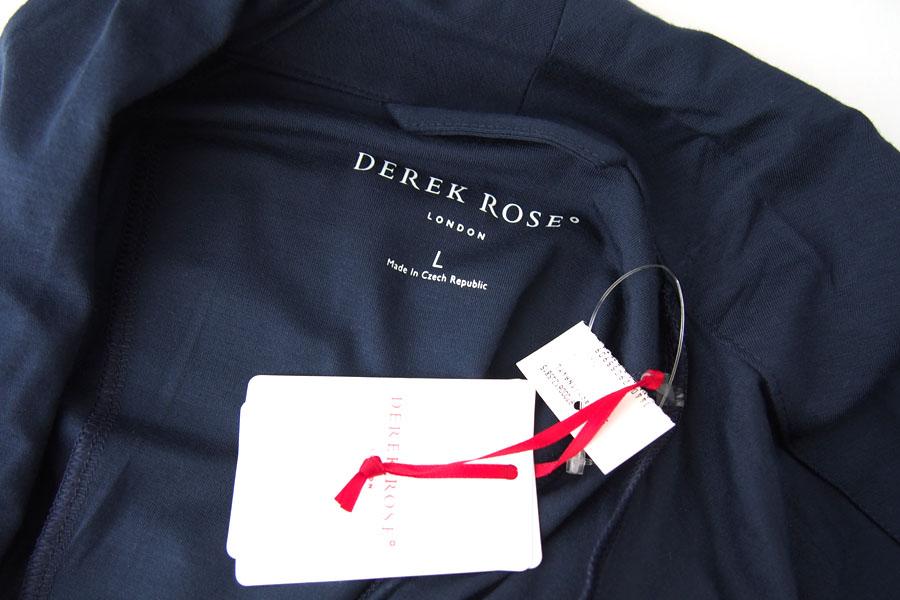 デレクローズ|DEREK ROSE|パイピングトリム モダールナイトガウンイメージ06
