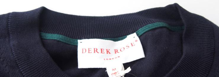 <デレクローズ|DEREK ROSE>リラックスウェア特集イメージ