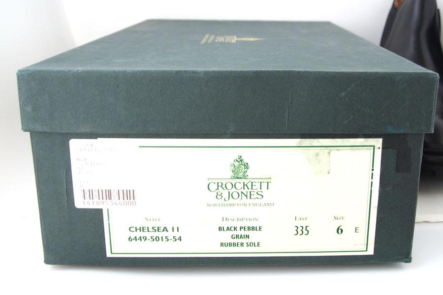 クロケットジョーンズ|Crockett & Jones|サイドゴア|チェルシー11|CHELSEA11イメージ09