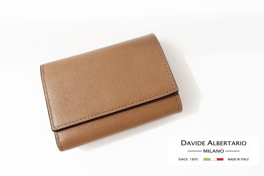 ダヴィデ アルベルタリオ |DAVIDE ALBERTARIO|スマートウォレット|コンパクト財布イメージ01