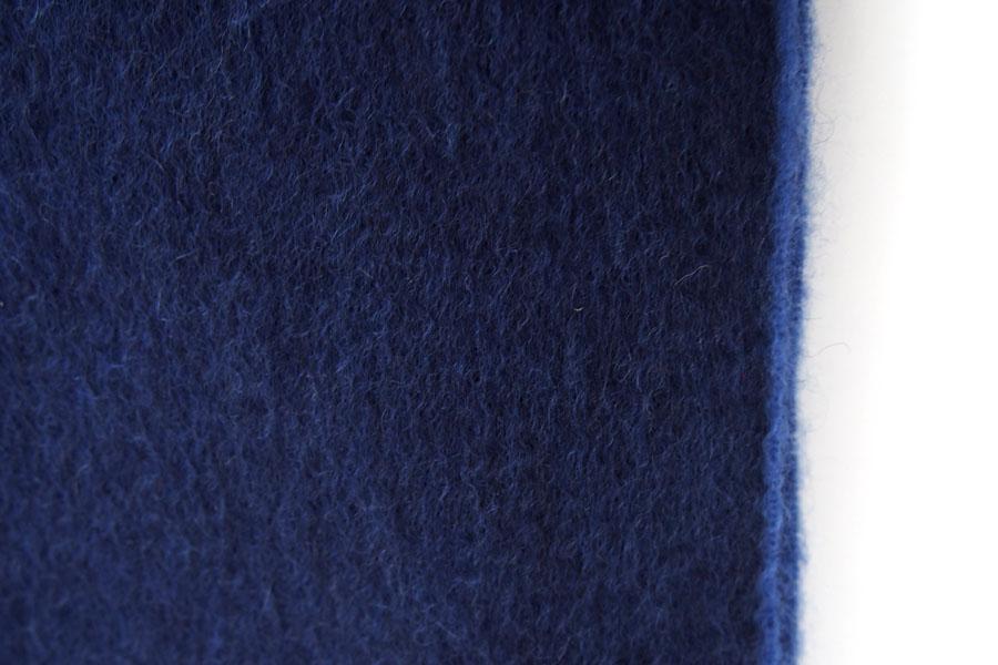 ベグ アンド コー BEGG & CO カシミヤセミリバーシブルマフラー ネイビー×ライトブルーイメージ04