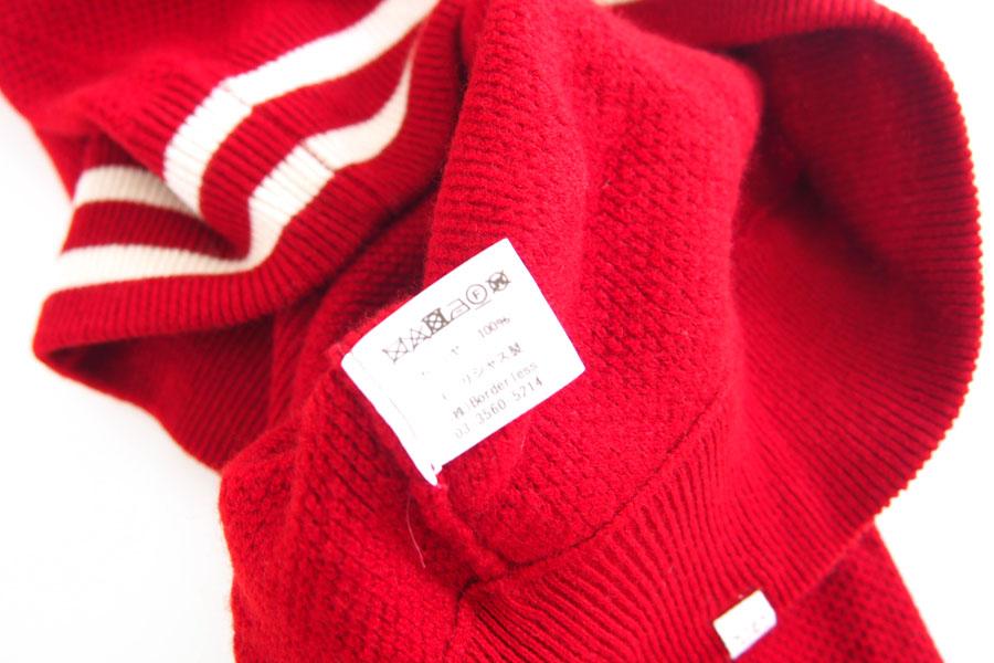 デレクローズ DEREK ROSE カシミアセーター ルームウェア M レッドイメージ08