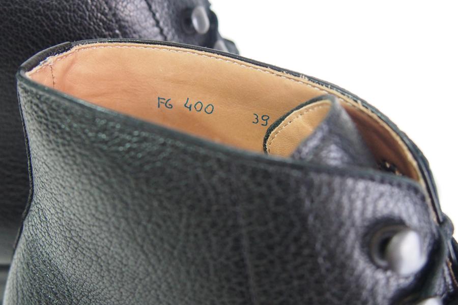 ジャコメッティ|F.lli Giacometti|グレインレザーレースアップブーツ|39|ブラック|FG400 MAROKID NERO SUOLA FG153 NERO|イメージ05