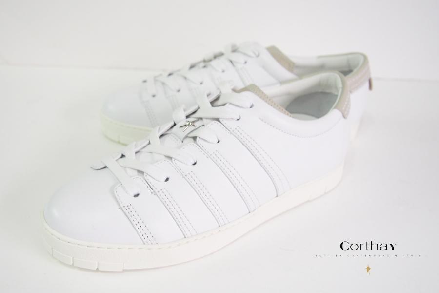コルテ|Corthay|スニーカー|90's|ホワイト|6イメージ01