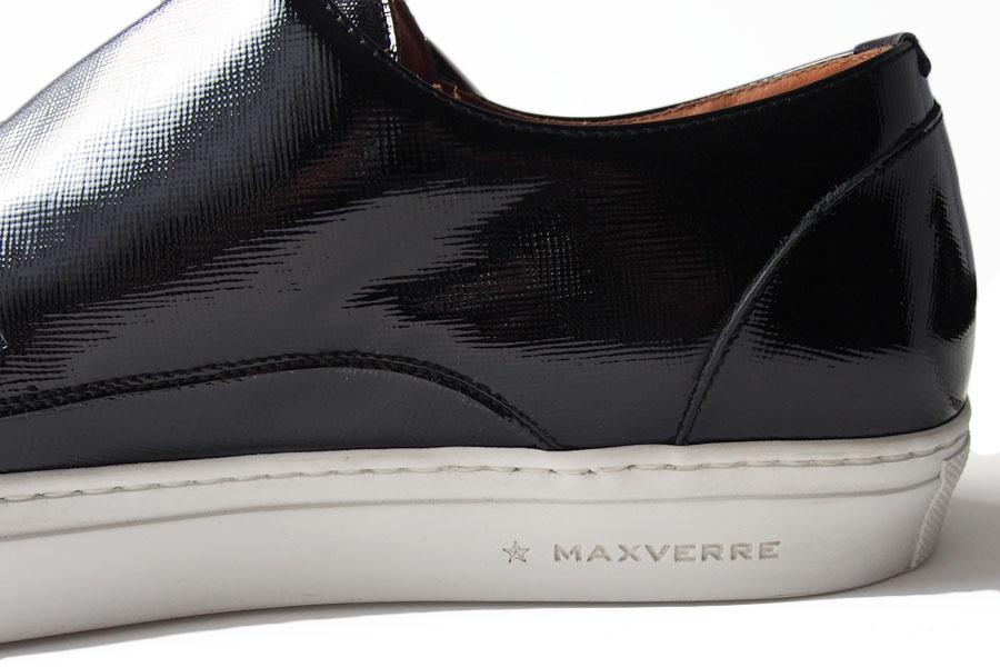 マックスヴェッレ MAXVERRE ダブルモンクスニーカー パテントレザー MV972 39 イメージ07