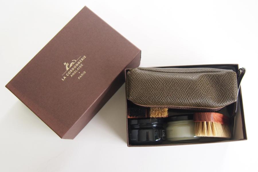 コルドヌリ・アングレース LA CORDONNERIE ANGLAISE 靴磨きセット シューケアポーチセット イメージ06