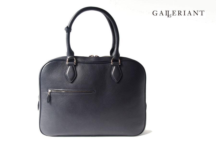 ガレリアント Galleriant 薄マチブリーフバッグ レザービジネスバッグ GEQ-3803 ネイビー イメージ01