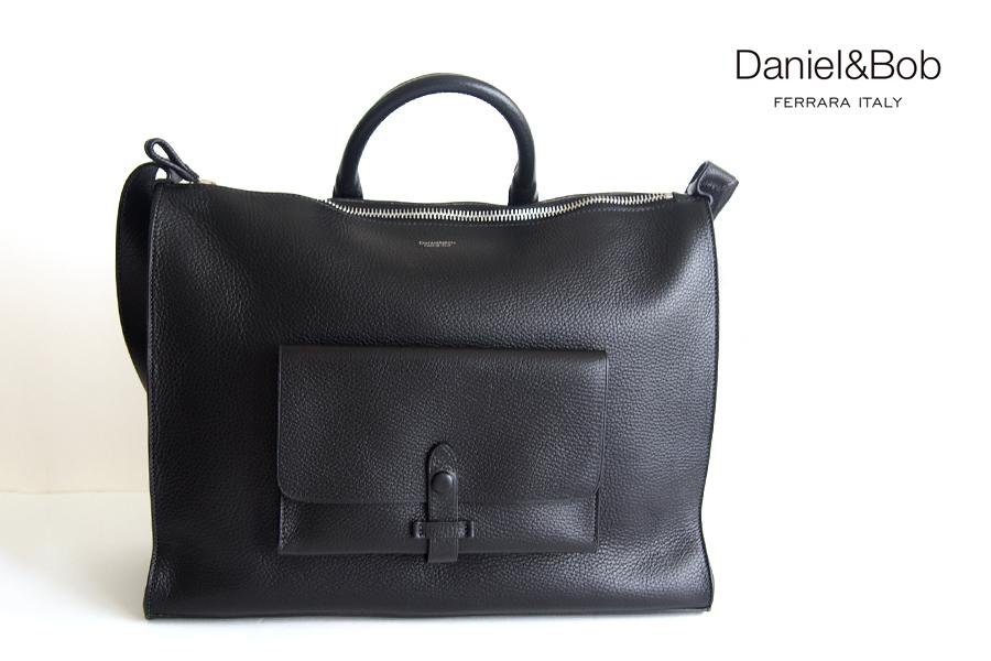ダニエル&ボブ|Daniel&Bob|2wayトートバッグ|FRASCHINI DAB-U469-34|ブラックイメージ01