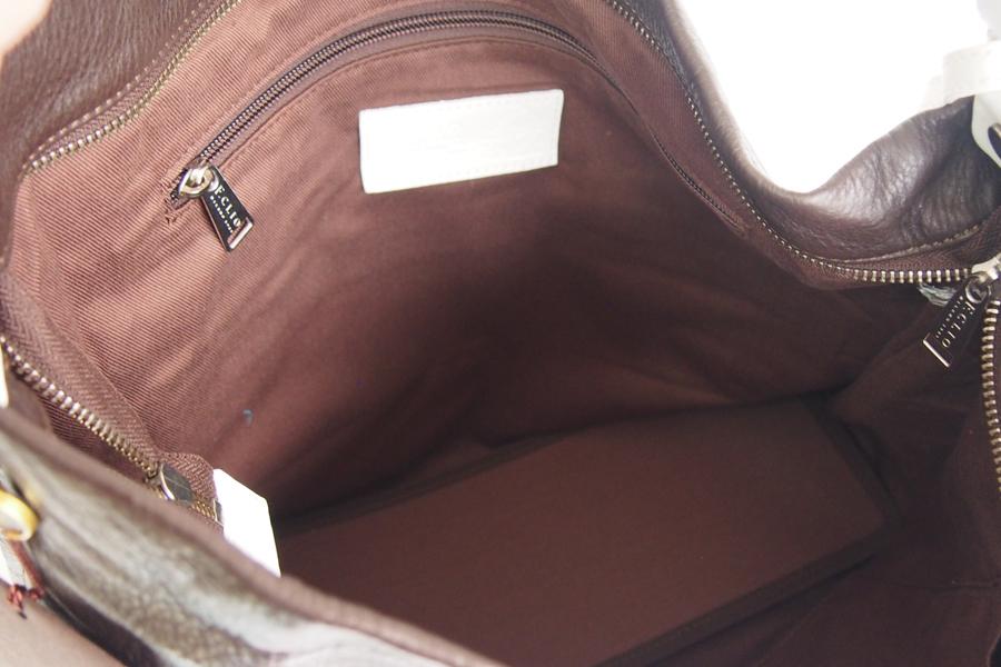 エフクリオ F.CLIO オールレザーショルダーバッグ イメージ010