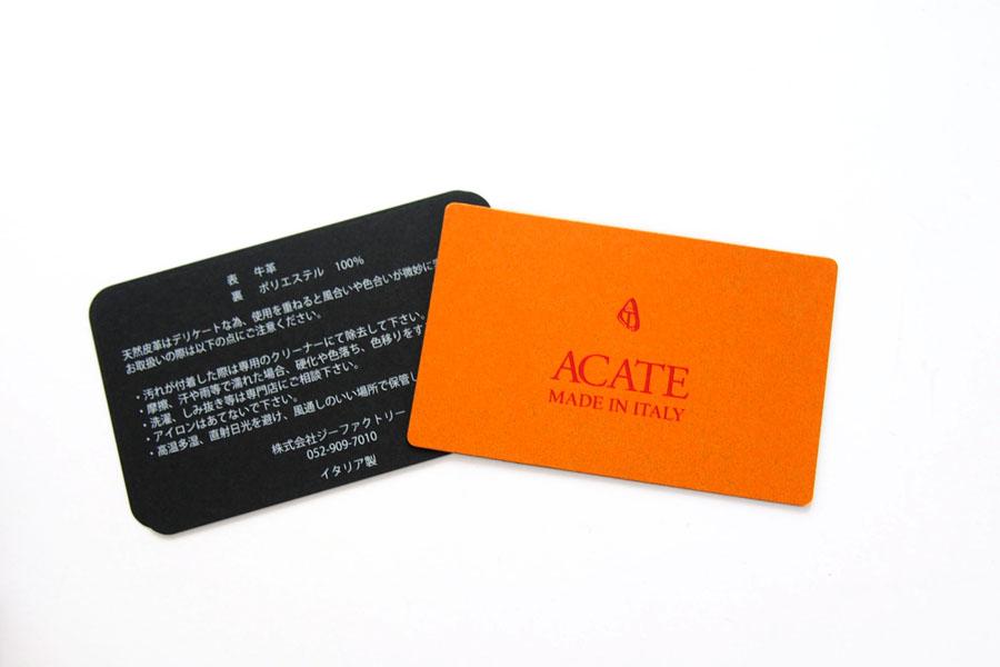 アカーテ ACATE フラップクラッチバッグ BREVA シュリンクレザー イメージ010
