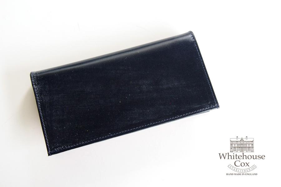 ホワイトハウスコックス|WHITEHOUSE COX|長財布|ロングウォレット|S1799 LONG WALLET|NAVY×YELLOW|イメージ01