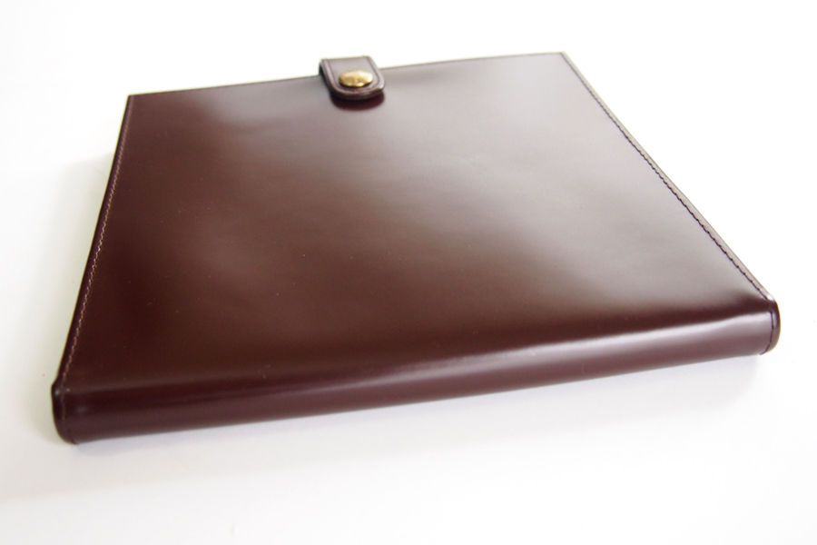 エッティンガー|ETTINGER|クオバディス用ブライドルレザー手帳カバー|ブラウン|イメージ05