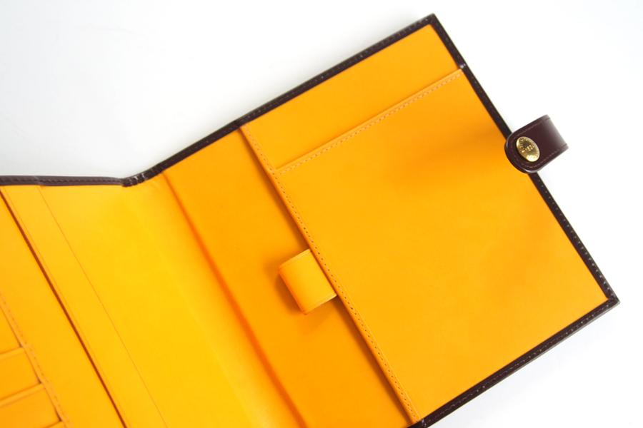 エッティンガー|ETTINGER|クオバディス用ブライドルレザー手帳カバー|ブラウン|イメージ08