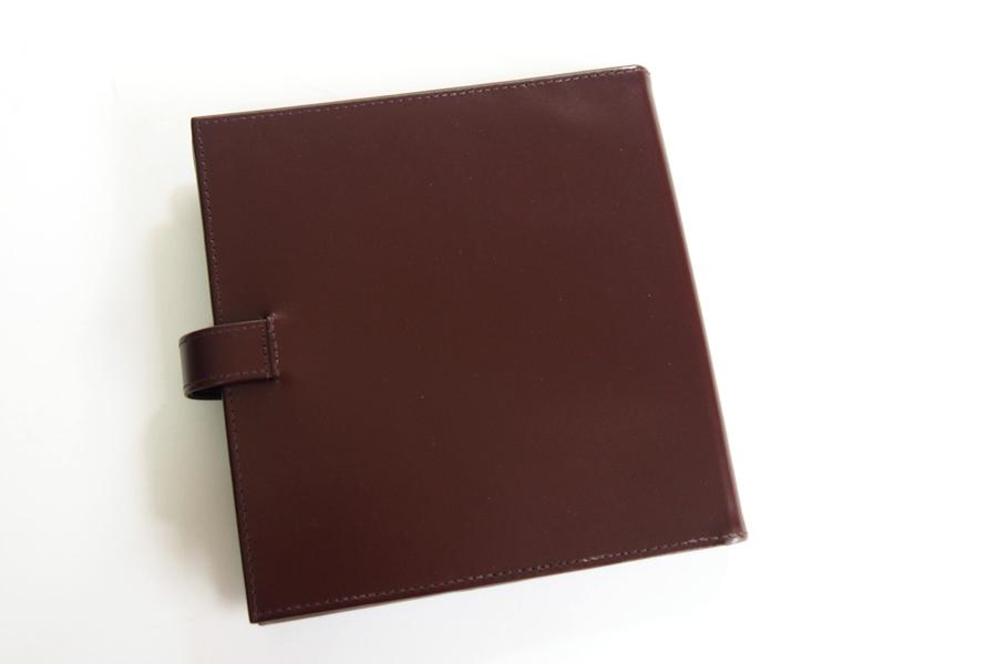 エッティンガー|ETTINGER|クオバディス用ブライドルレザー手帳カバー|ブラウン|イメージ09