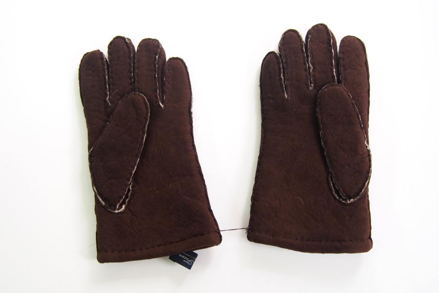 ロバートフレイザー|Robert Fraser|スエード手袋|グローブ|ブラウン|イメージ02