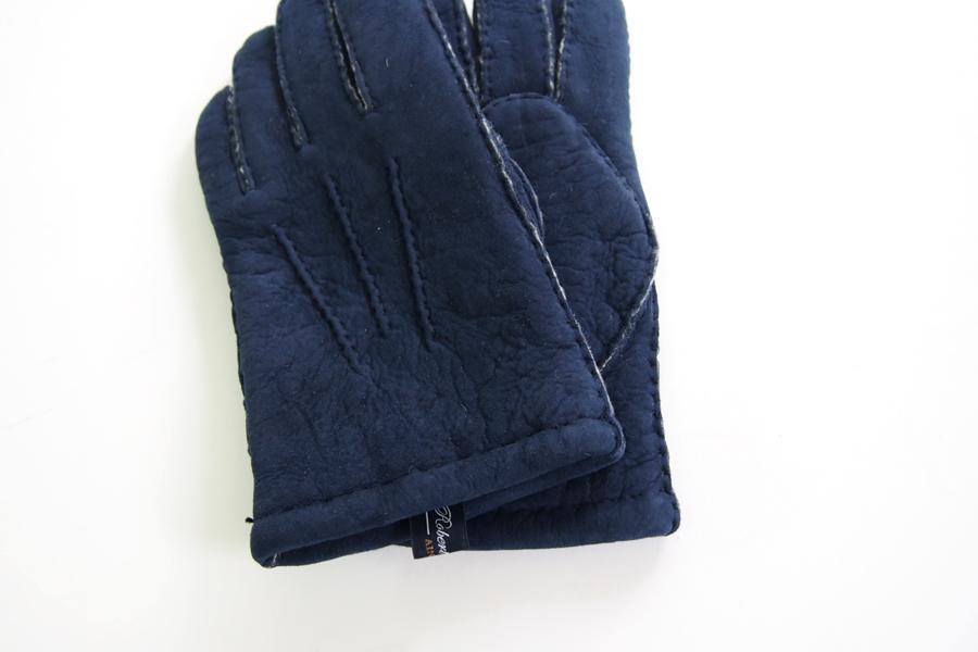ロバートフレイザー|Robert Fraser|スエード手袋|グローブ|ネイビー|イメージ02