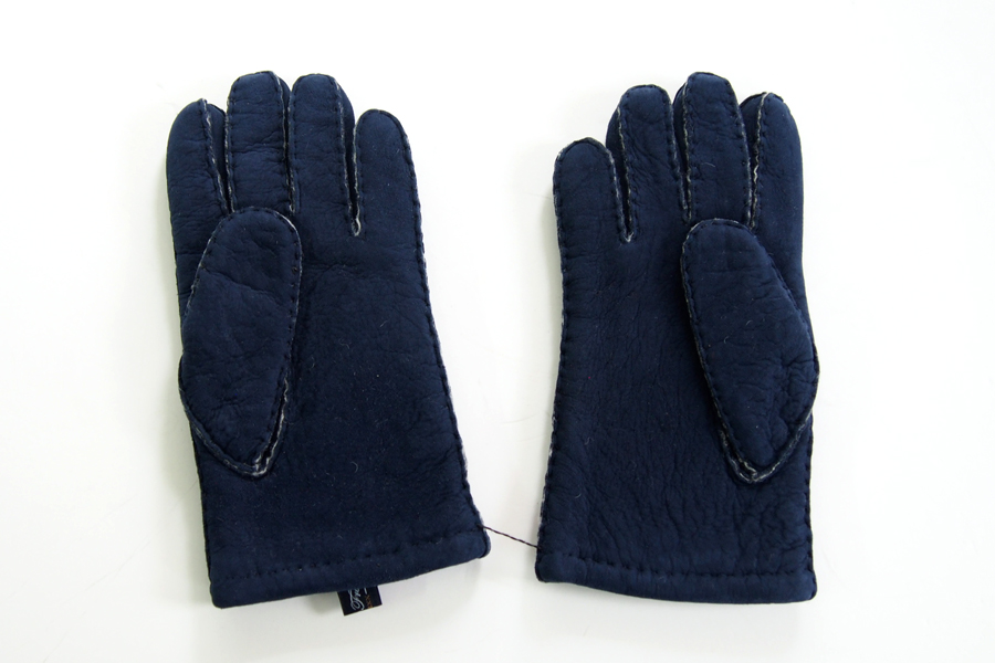 ロバートフレイザー|Robert Fraser|スエード手袋|グローブ|ネイビー|イメージ03