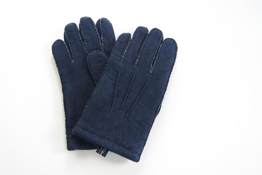 ロバートフレイザー|Robert Fraser|スエード手袋|グローブ|ネイビー|イメージ06
