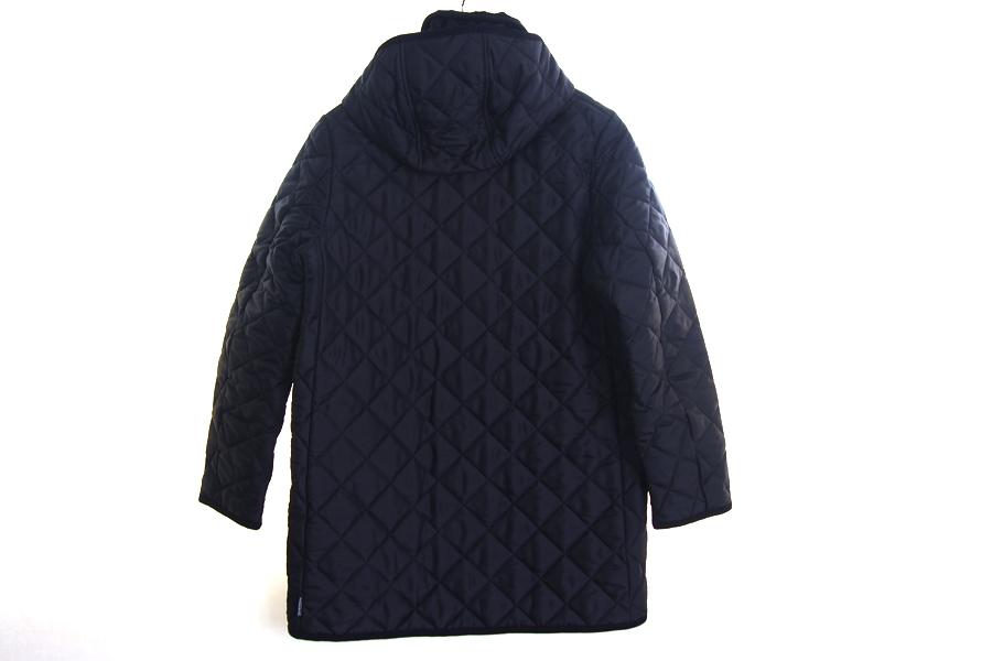 トラディショナルウェザーウェア|Traditional Weatherwear|キルティングコート|DERBY HOOD |ネイビー|36|イメージ02