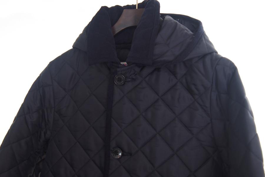 トラディショナルウェザーウェア|Traditional Weatherwear|キルティングコート|DERBY HOOD |ネイビー|36|イメージ03
