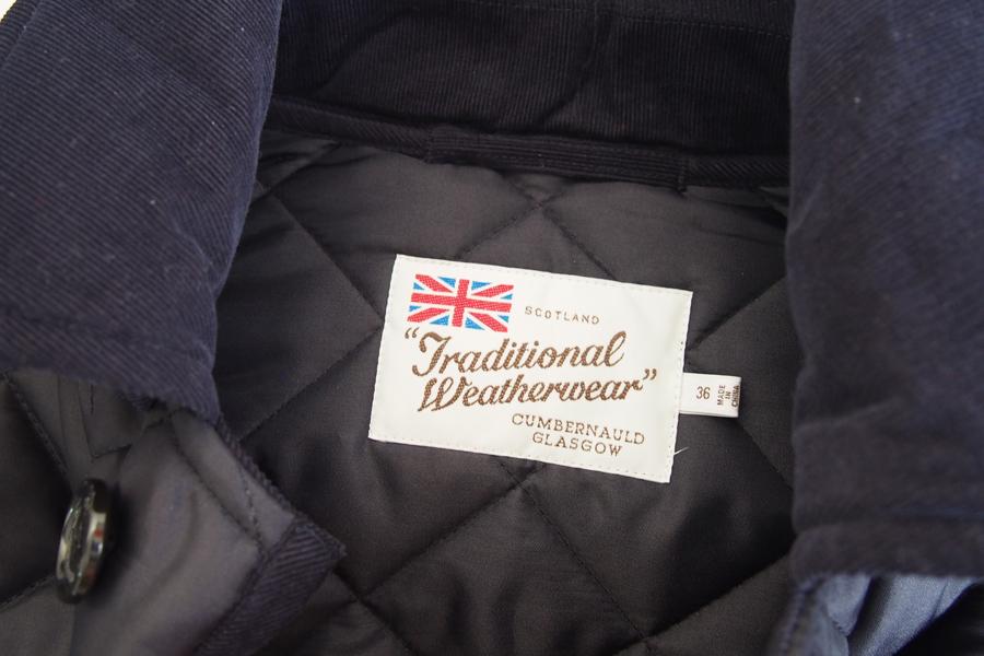 トラディショナルウェザーウェア|Traditional Weatherwear|キルティングコート|DERBY HOOD |ネイビー|36|イメージ06