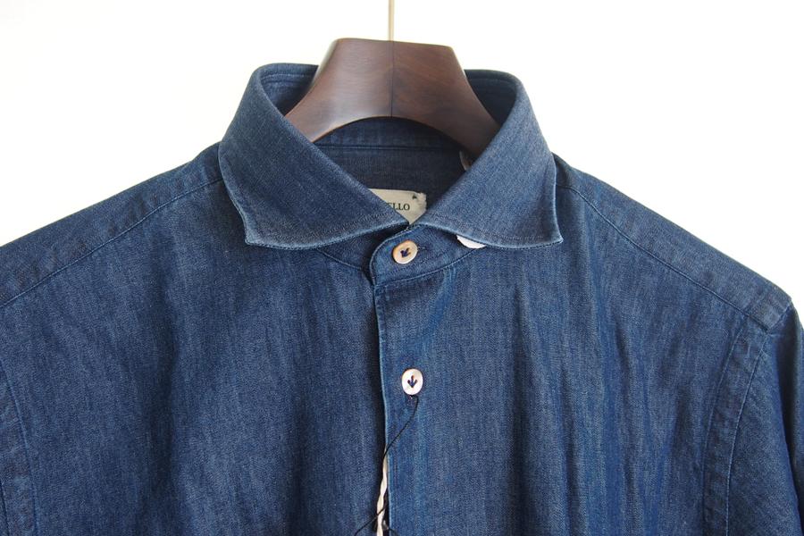 ボリエッロ|BORRIELLO|セミワイドカラー長袖シャツ|39イメージ03