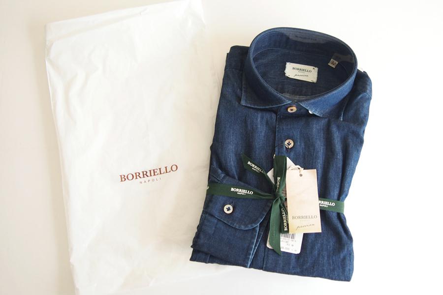ボリエッロ|BORRIELLO|セミワイドカラー長袖シャツ|39イメージ05